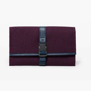 Test of Time Travel Wallet Stacked Jacquard Black